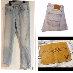 28-American Eagle Skinny Jeans-good condition